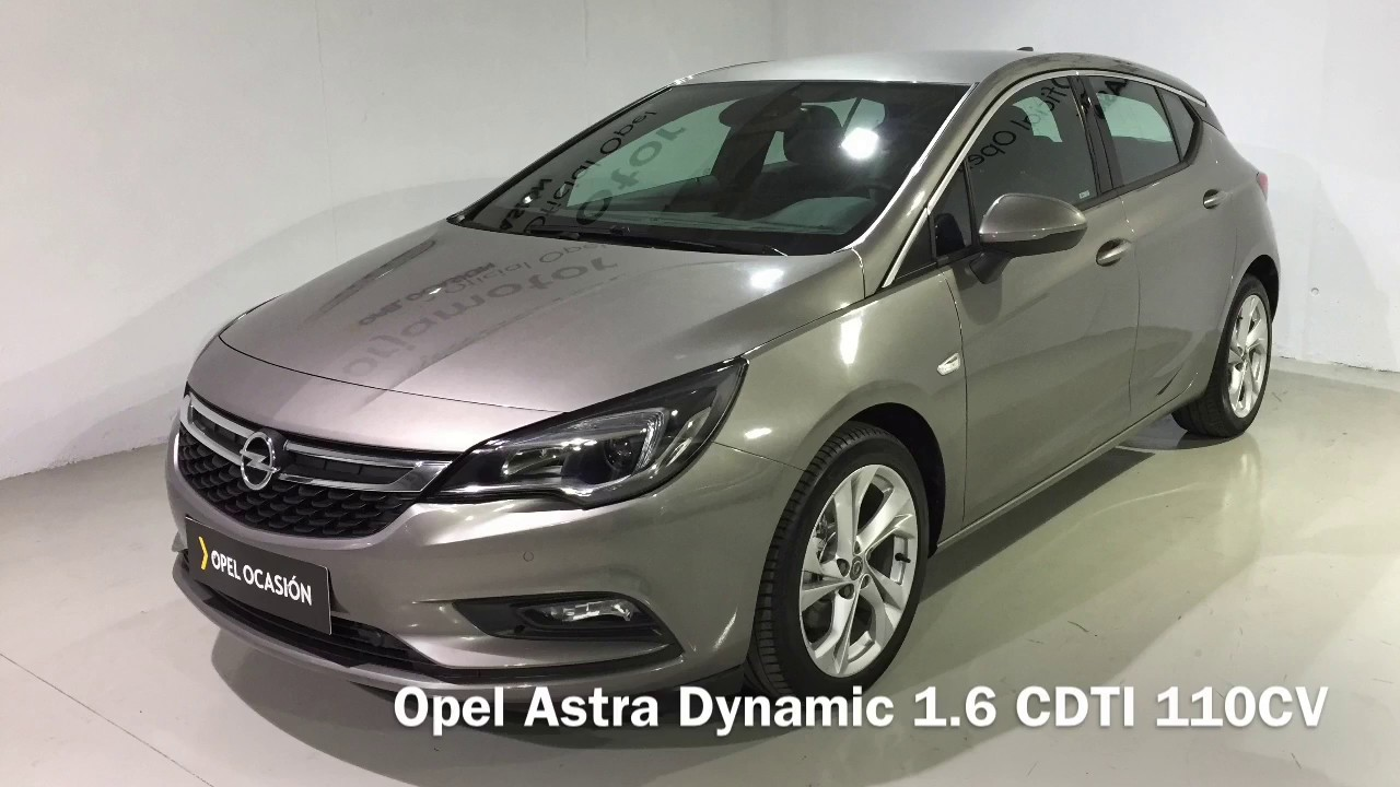 opel astra dynamic 1 6 cdti 110cv gris granito ocasion youtube. Black Bedroom Furniture Sets. Home Design Ideas