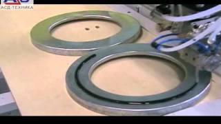 Gasketing   FIPFG  FIPG   промышленные фильтры вентиляции   монолитное уплотнение внешней рамки(, 2011-06-11T10:18:54.000Z)
