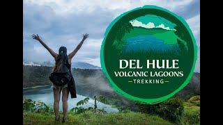 Trekking at De Hule Volcanic Lagoon, Costa Rica