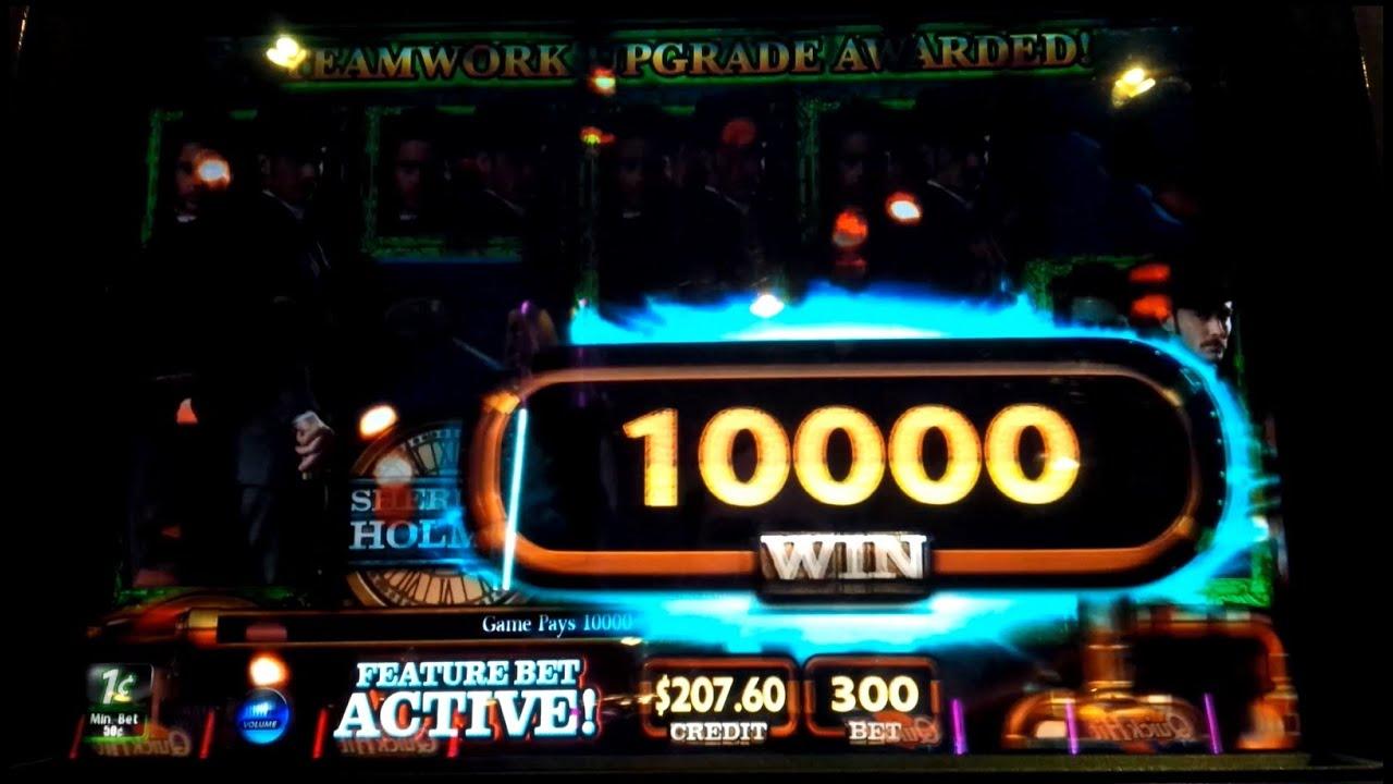 Sherlock Holmes Slot Machine