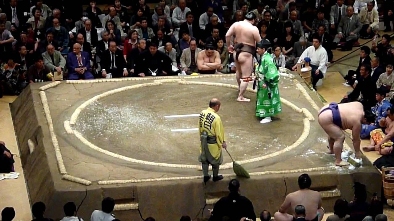 Hakuhō Shō Hakuh Sh Yokozuna vs Kai Hiroyuki Ozeki YouTube