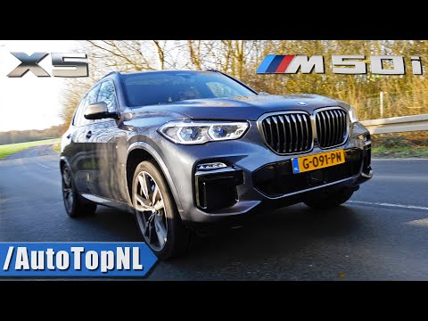 BMW X5 M50i 4.4 V8 BiTurbo *LOUD* Exhaust SOUND Revs & ONBOARD By AutoTopNL