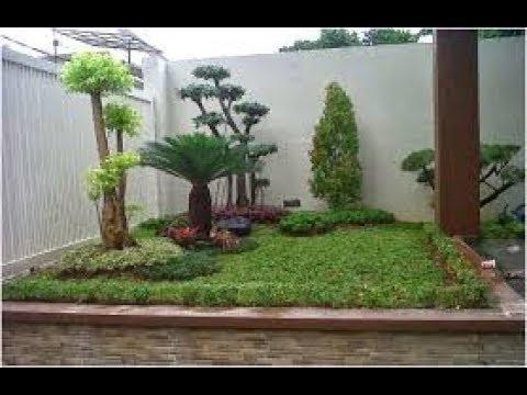 desain taman bonsai untuk rumah minimalis - youtube