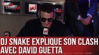 DJ Snake explique son clash avec David Guetta - C'Cauet sur NRJ
