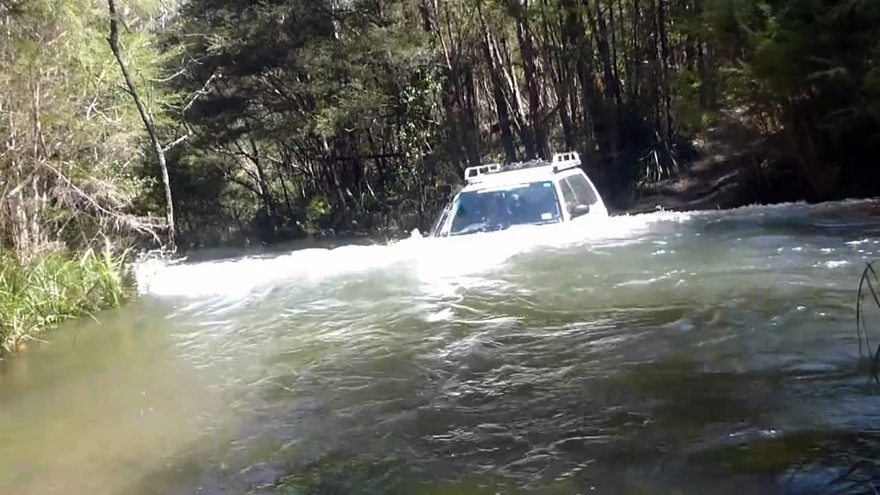 Subaru Off-road - Most Extreme River Crossing Yet - Return ...