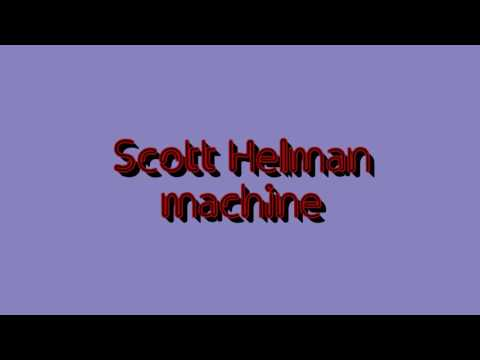 Scott Helman - machine [ lyric video ]