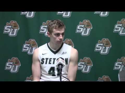 Brian Pegg - Stetson Basketball - 02.18.16