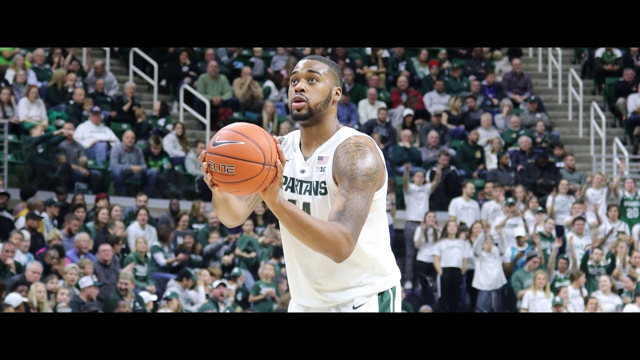 College basketball: No. 11 Michigan State overcomes loss of Nick Ward to beat ...