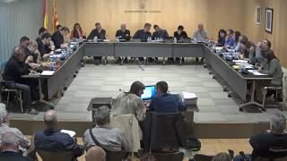 Ajuntament de Calafell: sessió plenària ordinària, 3 d'abril de 2017