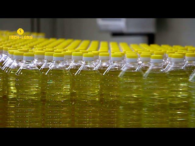 TECH-LONG Комплексная линия розлива подсолнечного масла 1 л. 18 000 бут./час
