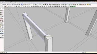 Sketchup Tutorials: Basic Table