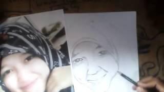 Video cara/Tutorial menggambar sketsa wajah dengan pensil mudah dan cepat.. download MP3, 3GP, MP4, WEBM, AVI, FLV Januari 2018