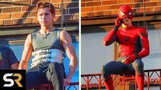 Spiderman 3: How Tom Holland Trains For His Own Stunts