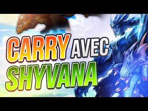 Comment Carry avec Shyvana - Les Counters Ganks