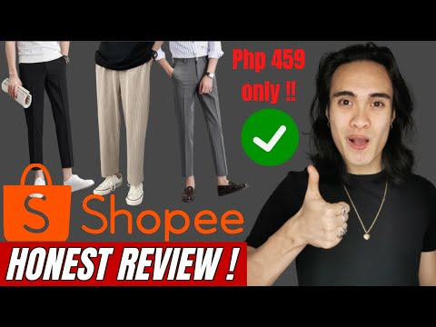 SHOPEE REVIEW | Murang Pants & Trousers Sa SHOPEE | 459 Pesos Lang!!