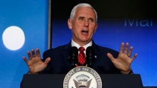 Is Pence pushing his own political agenda?
