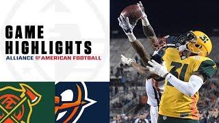 Arizona Hotshots vs. Orlando Apollos   AAF Week 6 Game Highlights