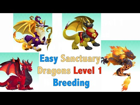 How To Breed Deep Red, Burning, Wizard, Ninja Dragon In Sanctuary 1