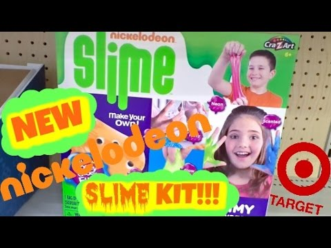 NEW NICKELODEON SLIME KIT FROM TARGET!!!