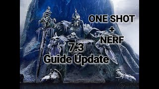 WOW FROST DK 7.3 PVP ARENA ONE SHOT + NERF (Guide Update)