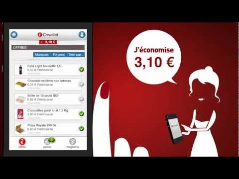 NOUVEAU : Des réductions sur votre mobile avec C-wallet