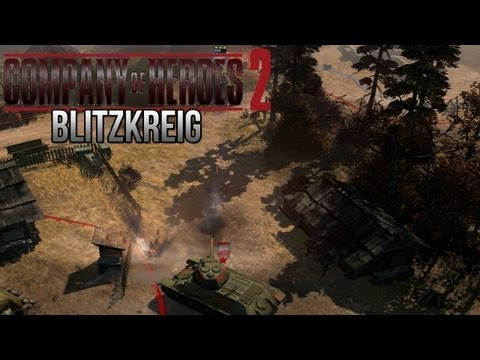 Company of Heroes 2 - Blitzkreig on General - Theater of War Gameplay 3/3