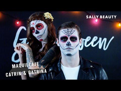 Maquillaje Catrina Catrin Youtube