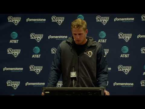 Los Angeles Rams Jared Goff Live Full Post Game Press Conference Interview 10/1/17 NFL Week 4