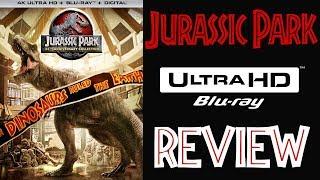 JURASSIC PARK 4K Bluray Review | Jurassic Park Collection 4K