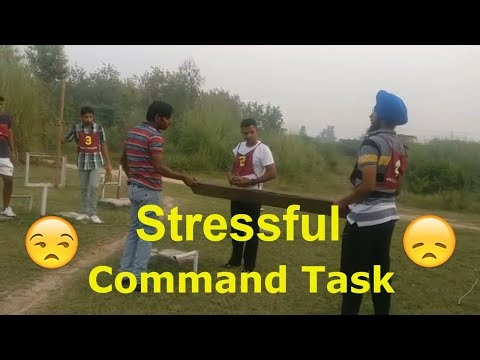 When GTO increase degree of difficulty during command task - SSB/AFSB GTO TASKS