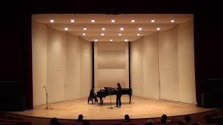 목원대학교 작곡전공 변지예 바이올린과 피아노를 위한 소…