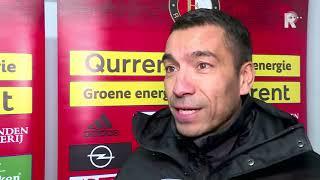 Giovanni van Bronckhorst na Feyenoord - Borussia Dortmund