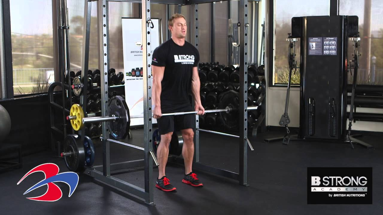 Exercise Deadlift With Squat Rack By B Strong Academy Youtube