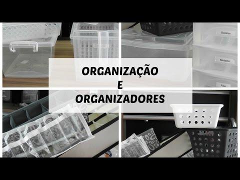 ORGANIZAÇAÕ E ORGANIZADORES