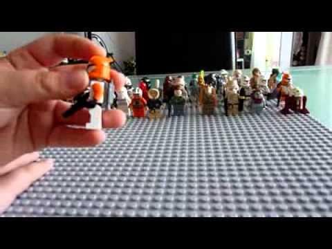 Pr sentation vaisseaux miniatures et personnages lego star wars youtube - Lego star wars personnage ...