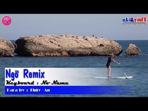 ngỡ karaoke remix
