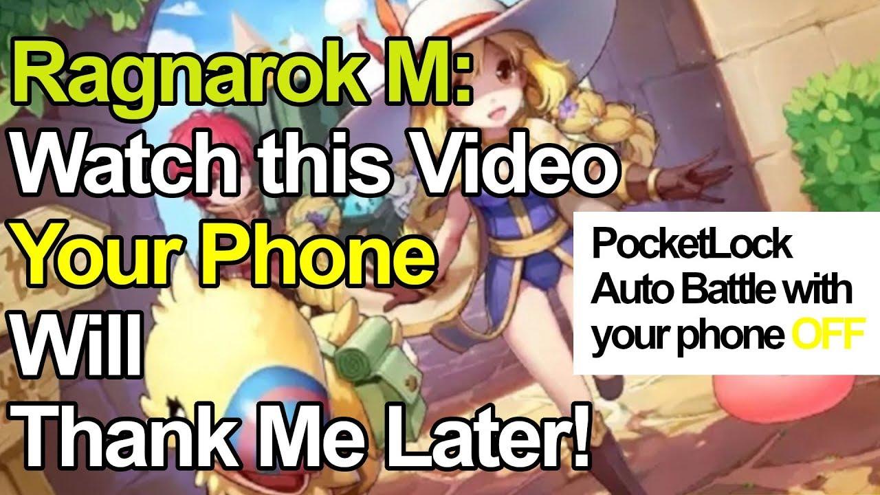 Ragnarok M Eternal Love: PocketLock For Auto Battle with Screen OFF!