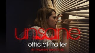 UNSANE | Official Trailer | In theaters March 23