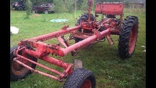 Ремонт трактора Т-16. Часть 1