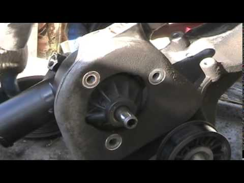 1987 Ford F150 I6 Steering Pump Replace
