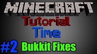 Bukkit Server Error Fixes 1.7.2 (Works With All Versions Of Bukkit)