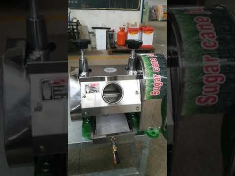 ZJ120 sugarcane juice machine by hand
