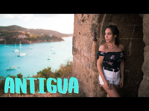 We Sailed to an Abandoned Fort! Beautiful Antigua and Barbuda