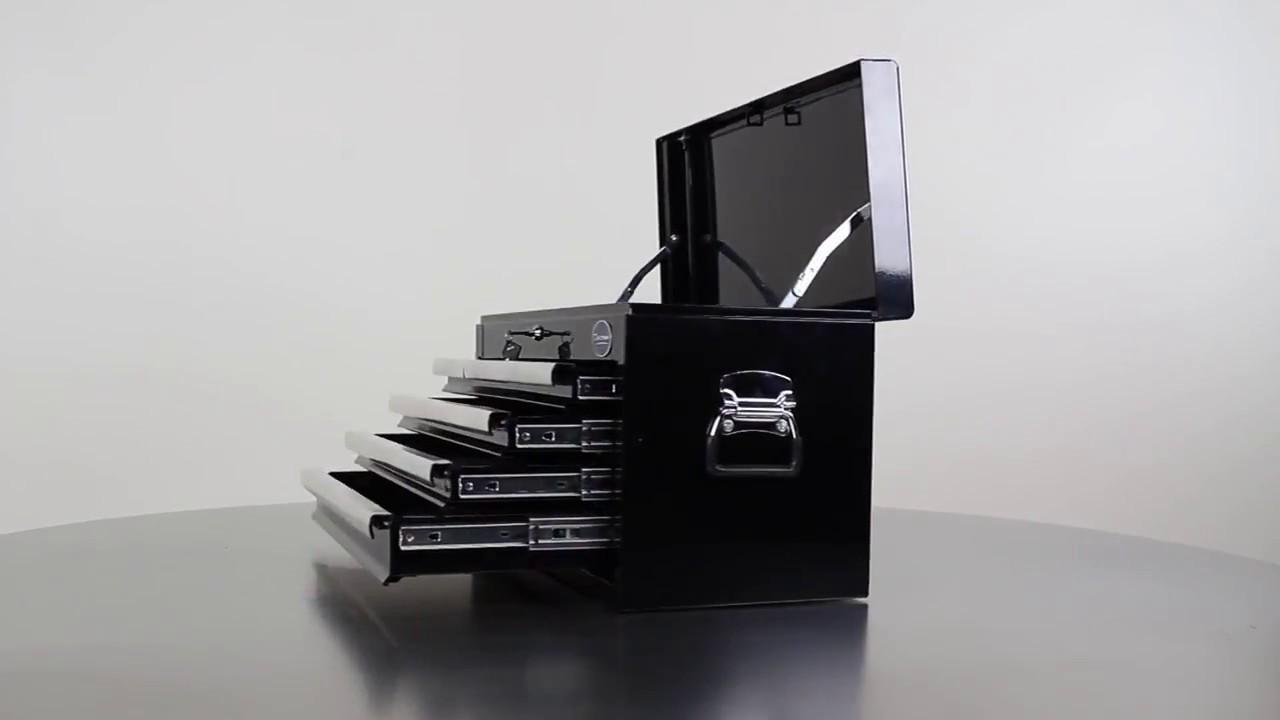 werkzeugkiste mit 6 schubladen youtube. Black Bedroom Furniture Sets. Home Design Ideas