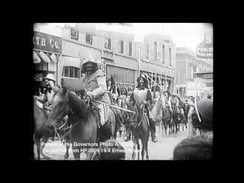 Santa Fe Fiestas Parades 1929 1957
