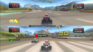 PS3 HD 720p - F1 Race Stars Britain - Splitscreen Win