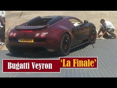 bugatti veyron la finale was spotted unloaded in tangier morocco youtube. Black Bedroom Furniture Sets. Home Design Ideas