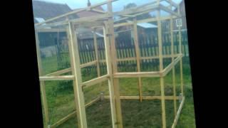 mała szklarnia ogrodowa budowa krempna 2012