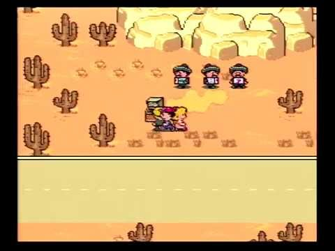 EarthBound 19 : Dusty Dunes