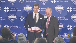 New York Giants Quarterback Eli Manning Says Goodbye To Football
